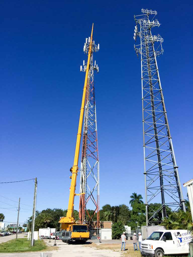 Tampa Cranes - COMMUNICATIONS TOWERS